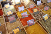 Herbs and spices at a french market — Стоковое фото