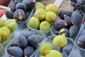 Figs at a French market — Stock Photo