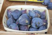 Higos en un mercado francés — Foto de Stock