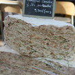 Nougat at a French market — Stock Photo
