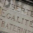 Royalty-Free Stock Photo: Liberty, equality, fraternity