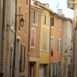 Colored houses in the Provence — Stok fotoğraf