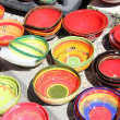 Colorful Provencal Pottery — 图库照片