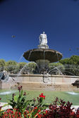Fountain in Aix en Provence — Stock Photo