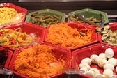 Salad bar at a restaurant — Foto de Stock