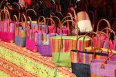 Barevné tašky — Stock fotografie