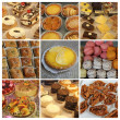 Patisserie collage — Stock Photo