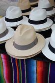 Panama hats — Stock Photo