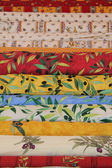 Rollen van provençaalse textiel — Stockfoto