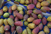 Cactus figs at a market — Stock Photo