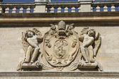 Ornament conservatoire du musique in Avignon — Stock Photo