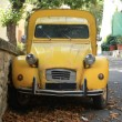 Vintage French Car — Stock Photo