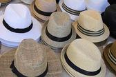 Chapéus de panamá — Foto Stock