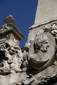 Fountain in Aix en Provence, detail — Stock Photo