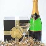 Champagne gift — Stock Photo #1698017