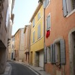 Colored houses in the Provence — Stock Photo