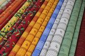 Provencal fabrics — Stock Photo