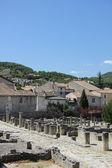 Ruinas romanas en vaison la romaine — Foto de Stock