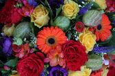 Mixed flower arrangement — Stock Photo