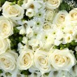 White wedding flowers - Stockfoto