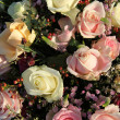 Wedding Flowers: Different shades of pink roses — Stock Photo #18655677