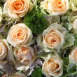 Pale pink bridal flowers - Stockfoto