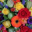 Mixed flower arrangement - Stockfoto