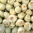 Group of white roses, wedding decorations — ストック写真
