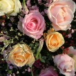 Wedding Flowers: Different shades of pink roses - Stockfoto