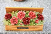 Keramické sympatie květiny — Stock fotografie