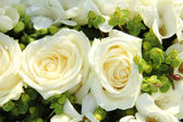 Flores de boda blanco — Foto de Stock