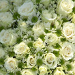 White wedding flowers — 图库照片