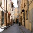 Street in Aix-en-provence — Stock Photo