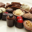 Delicious Chocolates — Foto Stock
