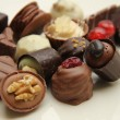 Decorated chocolates — Stock Photo #19717375
