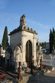 Cemetary in France — Stock Photo