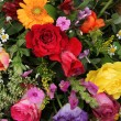 Flower arrangement in bright colors — Stock Photo #20067709