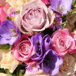 Pink and purple wedding bouquet — Stock Photo #24801197