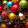 Colorful ornament decorations — Stock Photo