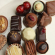 Decorated chocolates — Lizenzfreies Foto