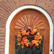Thanksgiving decorations — Stock Photo