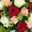 Stock Photo: Bridal arrangement in pink, red and white