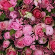 Mixed pink flower arrangement — Stock Photo #26188753