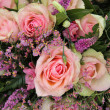 Stock Photo: Bridal bouquet in pink, detail