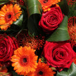 Orange and red bouquet - ストック写真