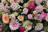 Pastel mixed bouquet — Foto de Stock