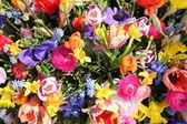 Buquê de flores coloridas primavera — Foto Stock