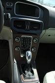 Modern car interior — 图库照片