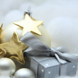 Stock fotografie: Christmas gift and decorations