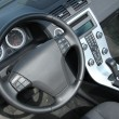 Stock Photo: Modern car interior